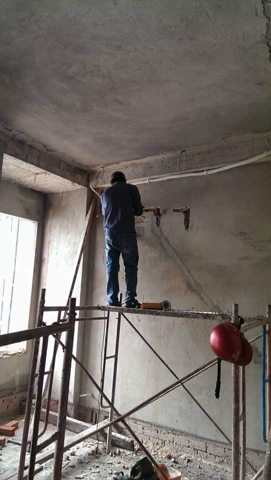 Lắp đặt ống đồng máy lạnh âm tường tại quận 2 2