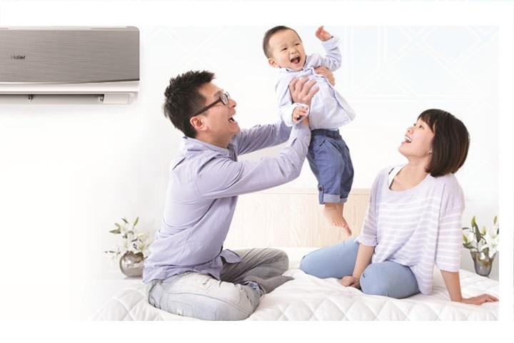 Những lưu ý khi sử dụng điều hòa cho trẻ nhỏ