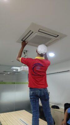Bảo trì bảo dưỡng máy lạnh tại Amway Việt Nam 3