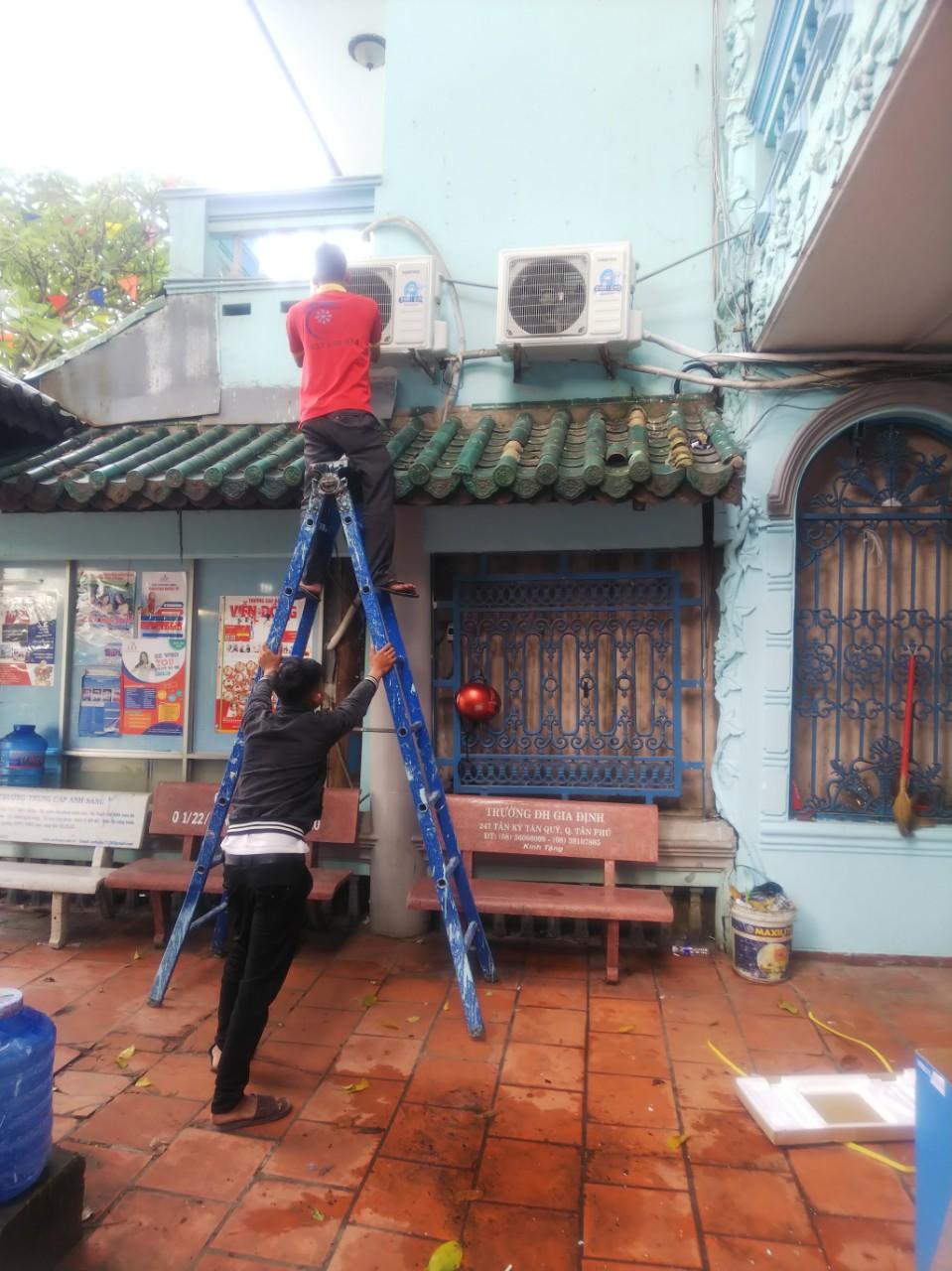 Vệ sinh máy lạnh giá rẻ tại Tân Bình 1