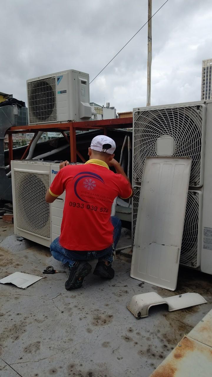 Bảo trì bảo dưỡng máy lạnh tại Amway Việt Nam 1