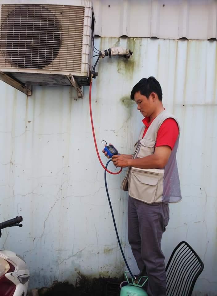 Thợ sửa máy lạnh tại nhà tphcm
