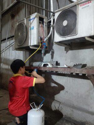 Bơm gas máy lạnh giá rẻ