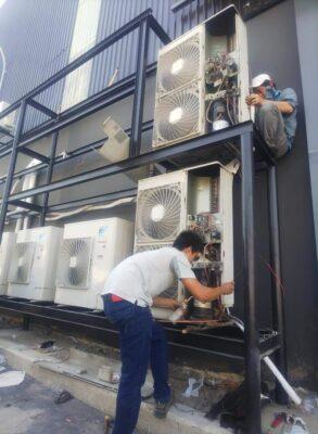 Bảo trì máy lạnh tòa nhà 1